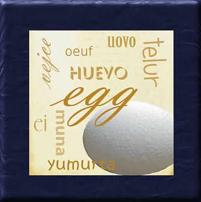 Translate Digital Art - Egg by Marti Snider