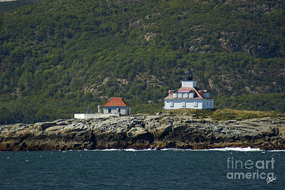 Photograph - Egg Rock Lighthouse by Alana Ranney