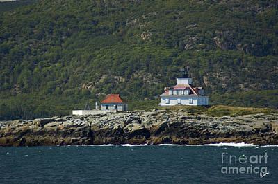 Photograph - Egg Rock Lighthouse by Alana Ranney