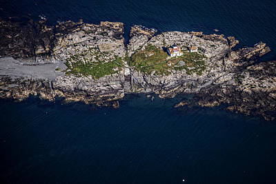 Photograph - Egg Rock Lighthouse by Rick Berk