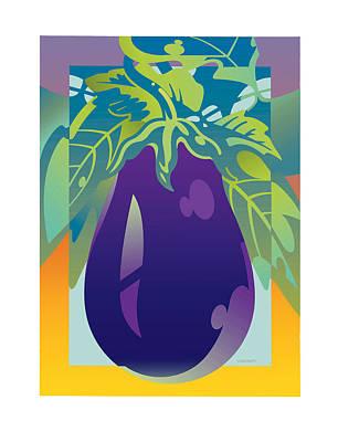 Eggplant Art Print