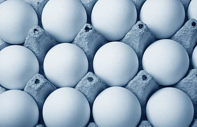 Eggs Art Print by Jean Schweitzer