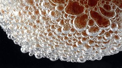 Eggshell Reacting With Hydrochloric Acid Art Print by Beautifulchemistry.net