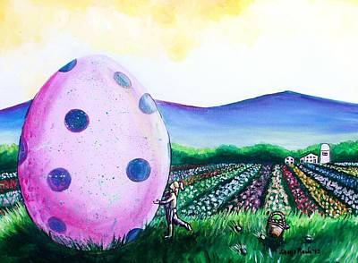 Painting - Eggstatic by Shana Rowe Jackson