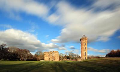 Photograph - Eglinton Castle by Grant Glendinning