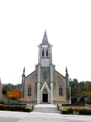 Photograph - Eglise De Vassy by Marc Philippe Joly