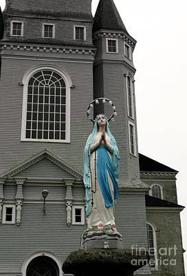 Photograph - Eglise Sainte Marie by Patricia Januszkiewicz