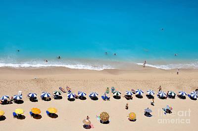 Photograph - Egremni Beach by George Atsametakis