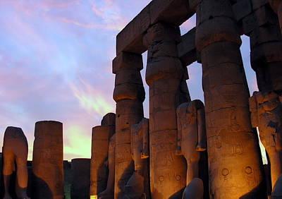 Photograph - Egypt - Luxor by Jacqueline M Lewis