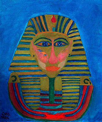Hera Painting - Egypt Ancient  by Colette V Hera  Guggenheim