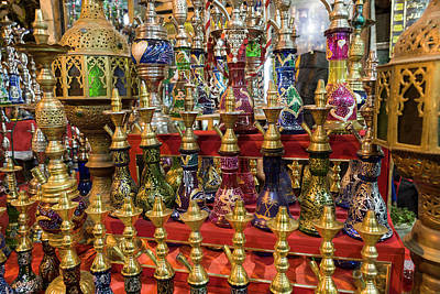 Egypt, Cairo A Colorful Display Art Print