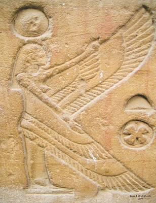 Egypt Collection 392009jjp Art Print by Jessie J De La Portillo