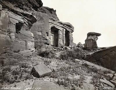 Photograph - Egypt Gebel El-silsila by Granger