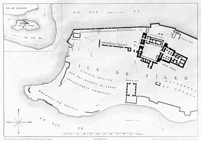 Egypt: Island Of Philae Art Print