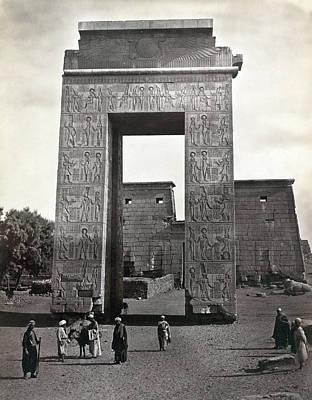 Egypt Karnak Art Print by Granger