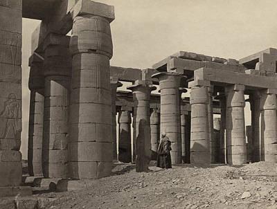 Egypt Ramesseum, 1860 Art Print by Granger