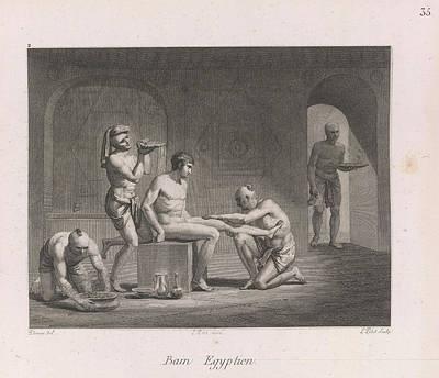 Bathe Photograph - Egyptian Bath by British Library