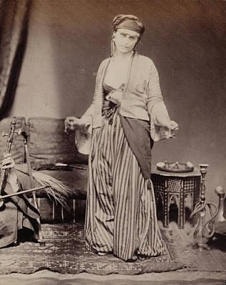 Egyptian Dancing Girl Roger Fenton, English Art Print