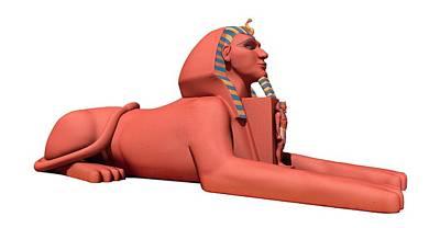 Egyptian Great Sphinx Art Print by Mikkel Juul Jensen