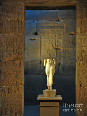 Goddess Worship Photograph - Egyptian History by Liesl Marelli