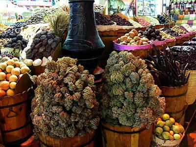 Photograph - Egyptian Market Spices by Jacqueline M Lewis