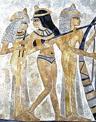 Musicians Royalty Free Images - Egyptian Musicians Royalty-Free Image by Brian Raggatt
