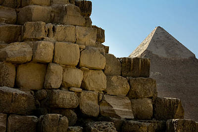 Photograph - Egyptian Pyramids by Anthony Doudt