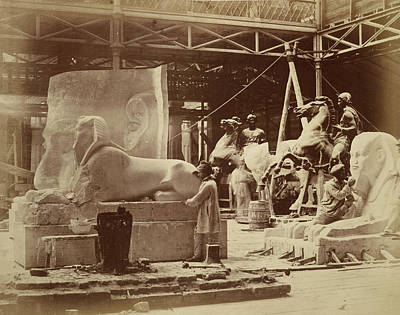 Philip Photograph - Egyptian Relics by British Library