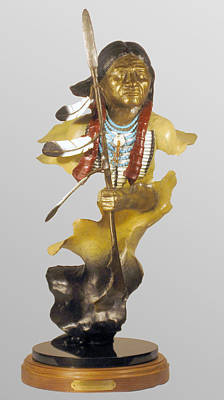 Sculpture - Ehuatl Honaga  by Hugh Blanding