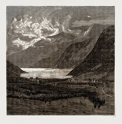 Norway Drawing - Eide, Hardanger, Norway by Litz Collection