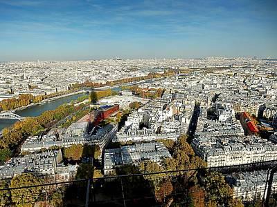 Photograph - Eiffel 558 by Gerald Greenwood