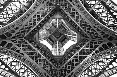 Eiffel Abstract Art Print