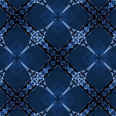 Abstract Patterns Photograph - Eiffel Art 30 by Mike McGlothlen