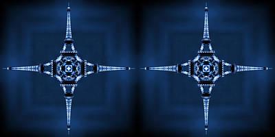 Eiffel Art 35a Print by Mike McGlothlen