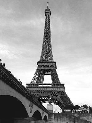Photograph - Eiffel Classic by Kathy Corday