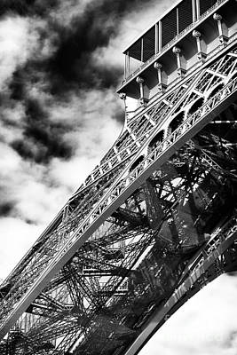 Photograph - Eiffel Curves by John Rizzuto