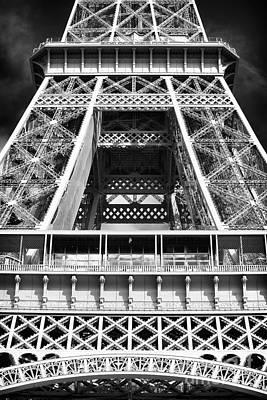 Photograph - Eiffel Details by John Rizzuto