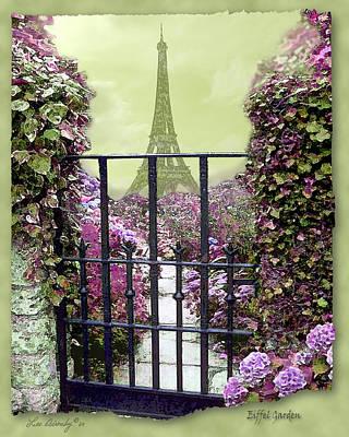 Photograph - Eiffel Garden by Lee Owenby