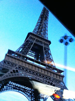 Photograph - Eiffel In Motion by Kathy Corday