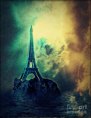 Eiffel Lighthouse Art Print