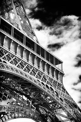 Photograph - Eiffel Lines by John Rizzuto