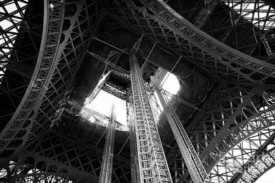 Photograph - Eiffel Mechanics by John Rizzuto