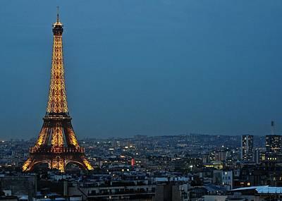 Photograph - Eiffel Nightscape   by Matt MacMillan