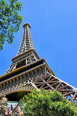 Photograph - Eiffel Perspective by Kristin Elmquist