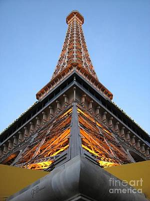 Photograph - Eiffel Power by Jessica Boone