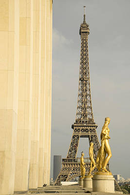 Photograph - Eiffel Tour Paris by For Ninety One Days