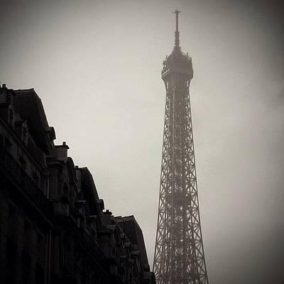 Architectureporn Photograph - Eiffel Tower - Paris ( Memories ) by Joel Lopez