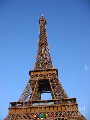 Eiffel Tower 2005 Ville Candidate Art Print