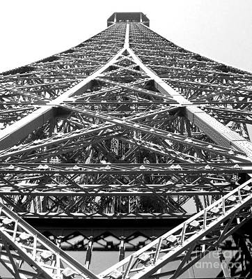 Eiffel Tower Art Print by Andrea Anderegg