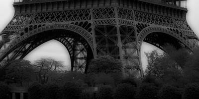 Photograph - Eiffel Tower Base 2 by Andrew Fare